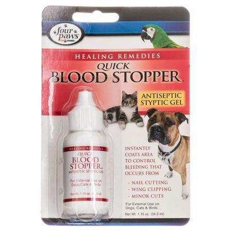 Four Paws Four Paws Quick Blood Stopper Antiseptic Styptic Gel