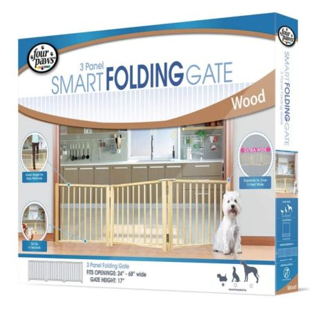 Four Paws Four Paws Free Standing Gate for Small Pets