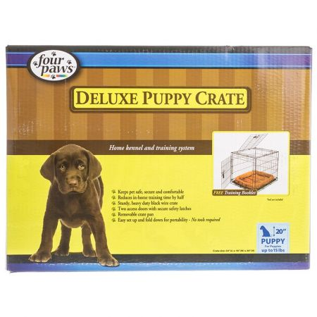 Four Paws Four Paws K-9 Keeper Puppy Crate with Front & Top Door