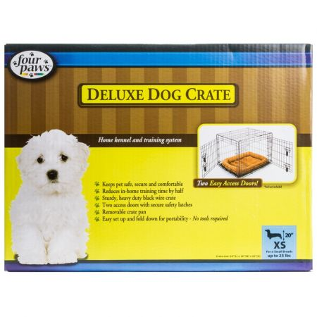 Four Paws Four Paws K-9 Keeper Delux Crate with Double Door