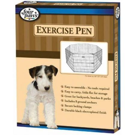 Four Paws Four Paws Exercise Pen - Black
