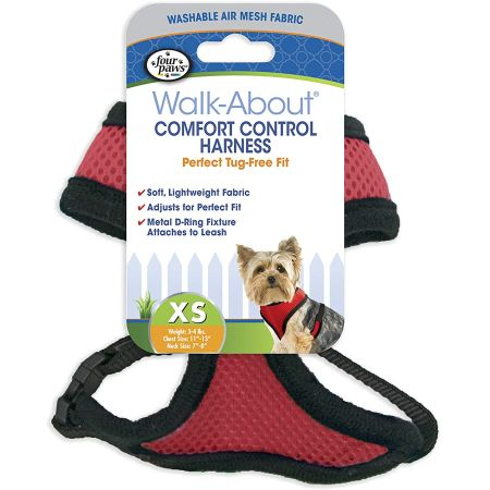 Four Paws Four Paws Comfort Control Harness - Red