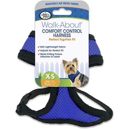 Four Paws Four Paws Comfort Control Harness - Blue