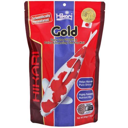 Hikari Gold Color Enhancing Koi Food - Medium Pellet