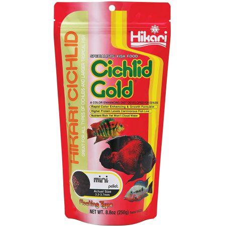 Hikari Cichlid Gold Color Enhancing Fish Food - Mini Pellet alternate view 2