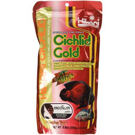 Hikari Cichlid Gold Color Enhancing Fish Food - Medium Pellet alternate view 2