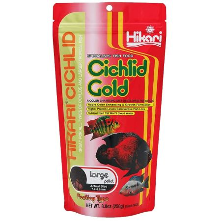 Hikari Cichlid Gold Color Enhancing Fish Food - Large Pellet alternate view 2