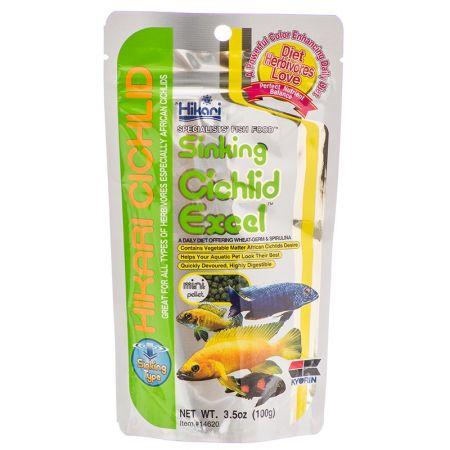Hikari Cichlid Excel Sinking Fish Food - Mini Pellet alternate view 1