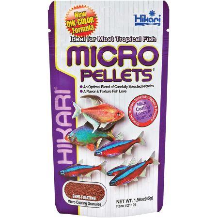 Hikari Micro Pellets for Tetras, Barbs & Small Fish alternate view 2