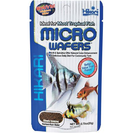 Hikari Hikari Micro Wafers for Small & Medium Size Tropical Fish