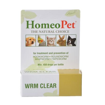 Homeopet HomeoPet Wrm Clear for Dogs & Cats