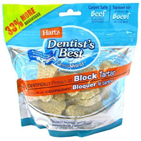Hartz Hartz Dentist's Best Rawhide Munchies with DentaShield
