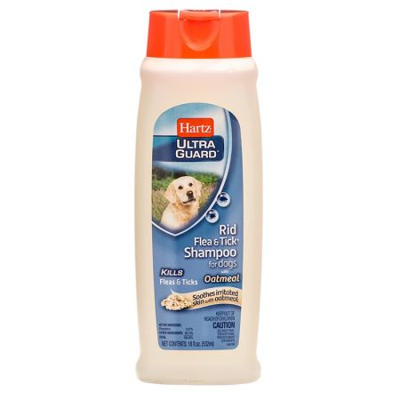 Hartz Hartz Ultraguard Rid Flea Amp Tick Oatmeal Shampoo