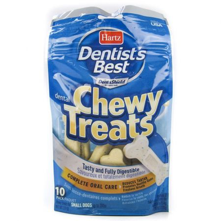 Hartz Hartz Dentist's Best Chewy Treats - Bone Shape