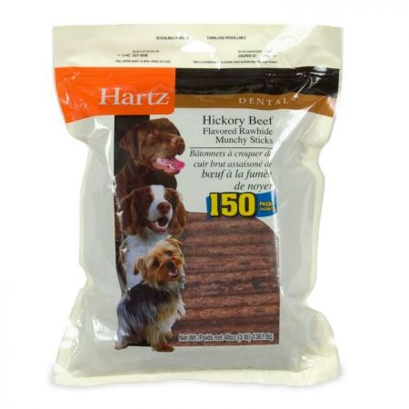 Hartz Hartz Rawhide Hickory Munchy Sticks - Hickory Beef Flavored