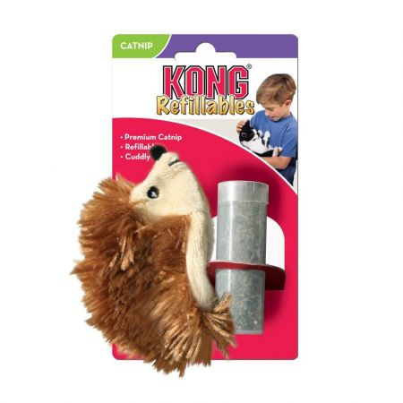 Kong Kong Hedgehog Refillable Catnip Toy