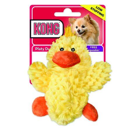 Kong Kong Plush Platy Duck Dog toy