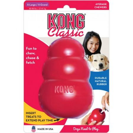 Kong Kong Classic Dog Toy - Red