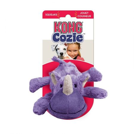 Kong Kong Cozie Plush Toy - Rosie the Rhino