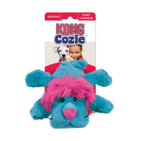 Kong Kong Cozie Plush Toy - Small Lion Dog Toy