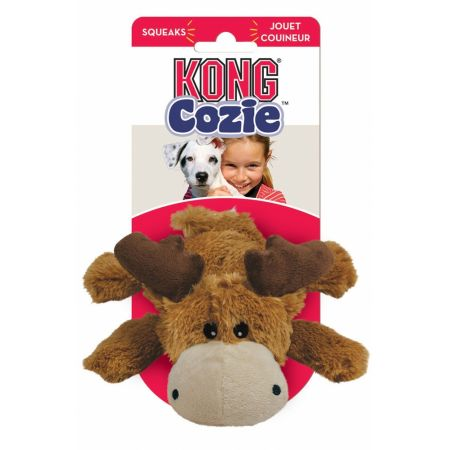 Kong Kong Cozie Plush Toy - Small Moose Dog Toy