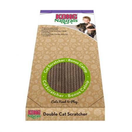 Kong Kong Double Wide Cardboard Cat Scratcher
