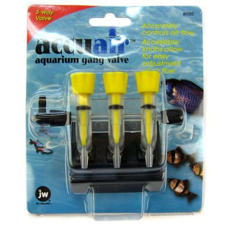 JW Pet JW Fusion Accuair 3 Way Aquarium Gang Valve
