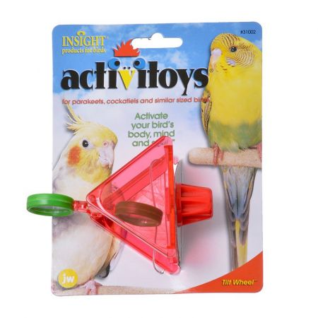 JW Pet JW Insight Tilt Wheel Bird Toy
