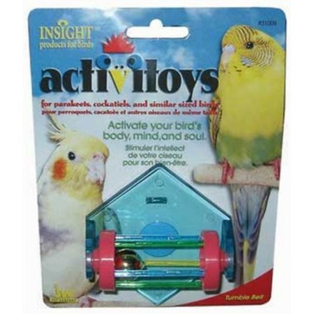 JW Pet JW Insight Tumble Bell Bird Toy