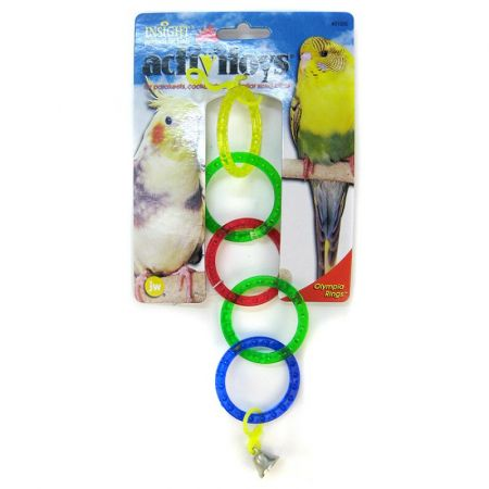 JW Pet JW Insight Olympic Rings Bird Toy
