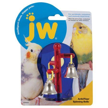 JW Pet JW Insight Spinning Bells Bird Toy