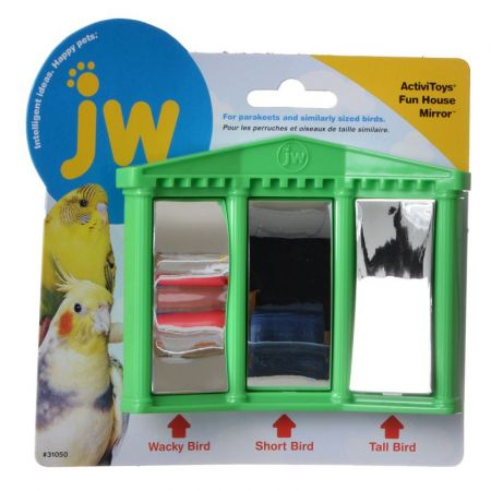 JW Pet JW Insight Fun House Mirror Bird Toy