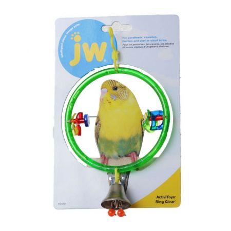 JW Pet JW Insight Clear Ring Bird Perch