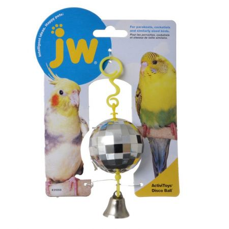 JW Pet JW Insight Disco Ball Bird Toy