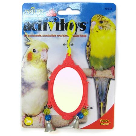 JW Pet JW Insight Fancy Mirror Bird Toy - Assorted