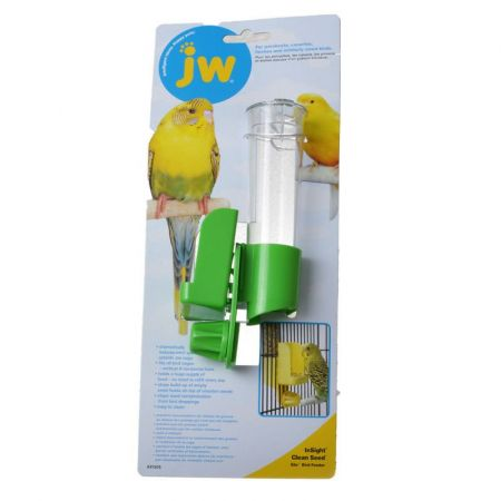 JW Pet JW Insight Clean Seed Silo Bird Feeder