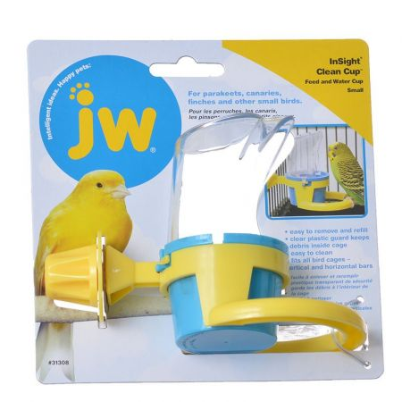 JW Pet JW Insight Clean Cup Feed & Water Cup