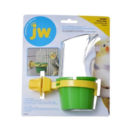 JW Insight Clean Cup Feed & Water Cup alternate view 2