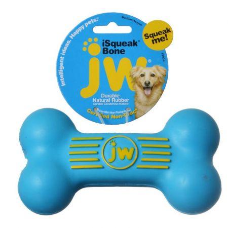 JW Pet JW Pet iSqueak Bone - Rubber Dog Toy