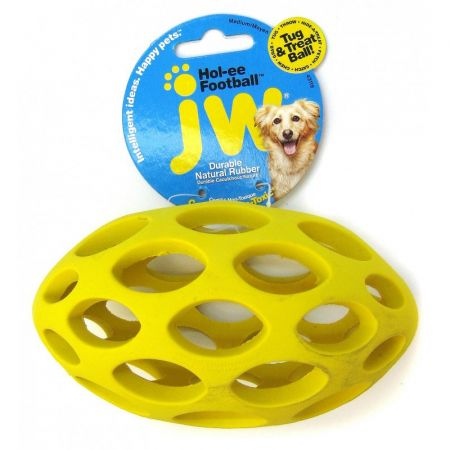JW Pet JW Pet Sphericon Football Dog Toy