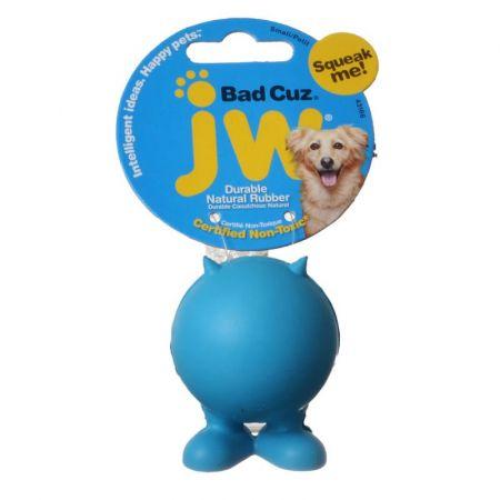JW Pet JW Pet Bad Cuz Rubber Squeaker Dog Toy