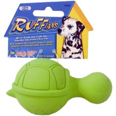JW Pet JW Pet Ruffians Rubber Dog Toy - Turtle