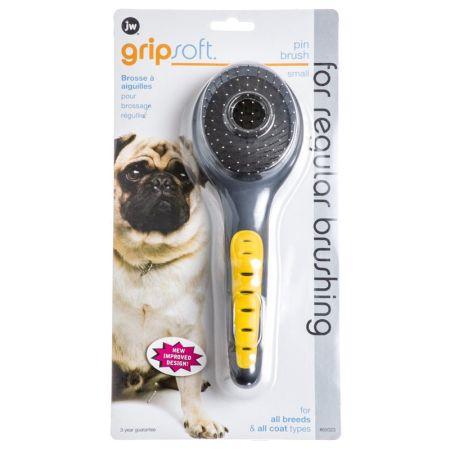 JW Pet JW Gripsoft Small Pin Brush