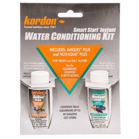 Kordon NovAqua + AmQuel Start Smart Instant Water Conditioning Kit