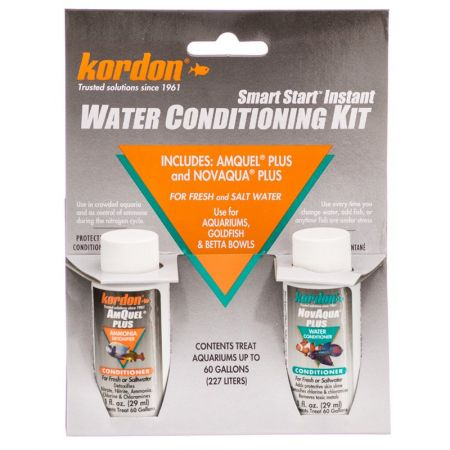 Kordon Kordon NovAqua + AmQuel Start Smart Instant Water Conditioning Kit