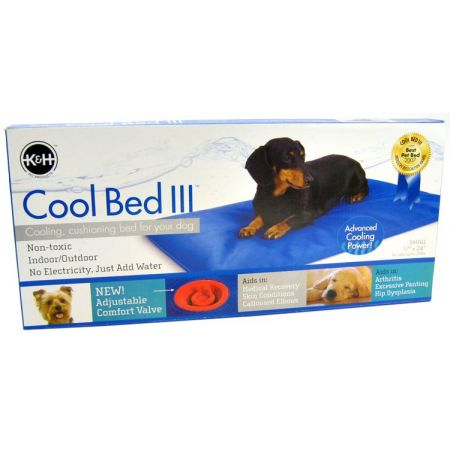 K&H Pet Products K&H Pet Products Cool Bed III with Blue Cushion