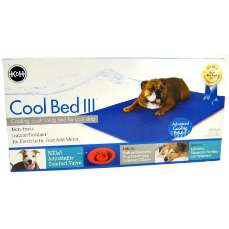 K&H Pet Products Cool Bed III with Blue Cushion alternate view 1