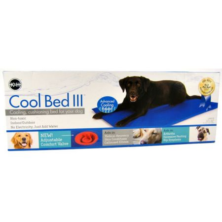 K&H Pet Products Cool Bed III with Blue Cushion alternate view 2