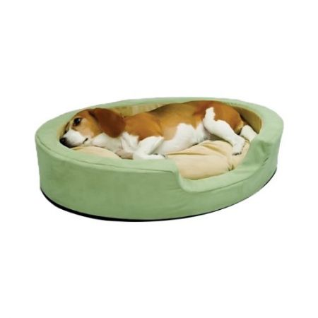 K&H Pet Products K&H Pet Products Thermo Snuggly Sleeper Pet Bed - Sage
