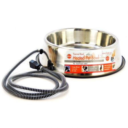 K&H Pet Products K&H Pet Products Stainless Steel Heated Water Bowl